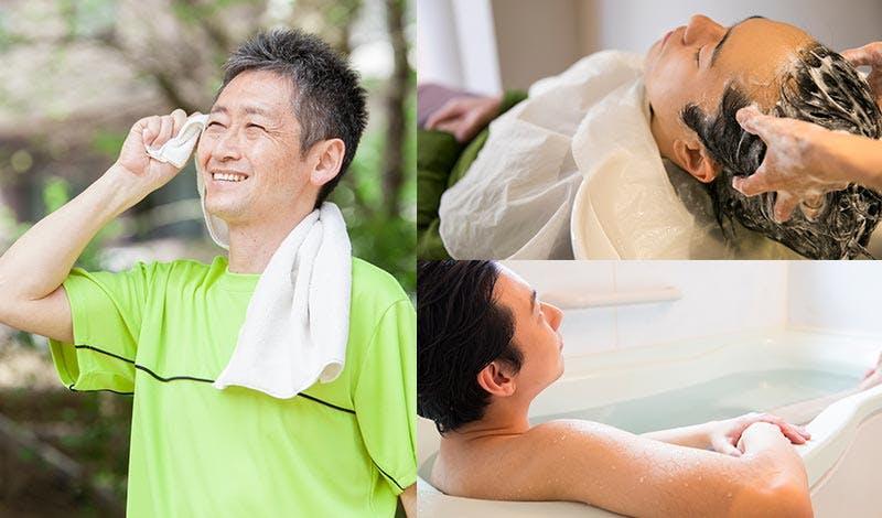 頭皮の脂性は体の外側と内側から改善しよう